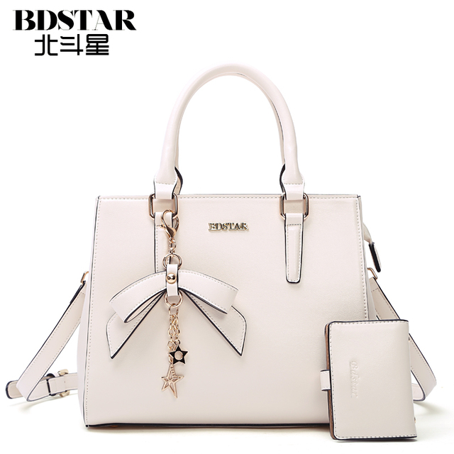 e6a2b868ea36 BDSTAR BRAND New 2016 women handbags genuine leather handbag women  messenger bags ladies brand designs bag bags Handbag+Purse