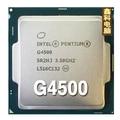 Оригинальный Intel G4500 Pentium dual core CPU 3.5 ГГЦ LGA1151 3 МБ 14nm Двухъядерный настольных ПРОЦЕССОРА Бесплатная доставка