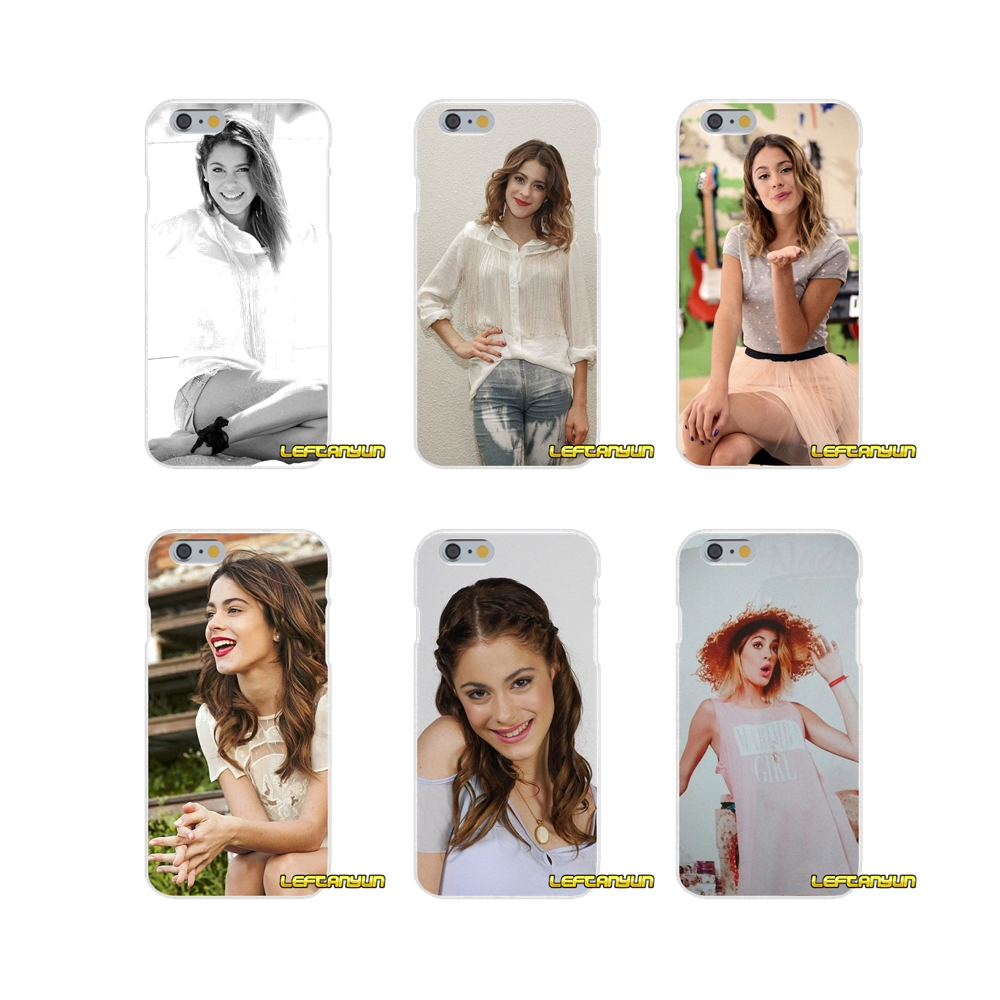 Cellphones & Telecommunications Half-wrapped Case For Iphone X 4 4s 5 5s 5c Se 6 6s 7 8 Plus Samsung Galaxy J1 J3 J5 J7 A3 A5 2016 2017 Martina Stoessel Violetta Girl Soft Case