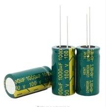Nouveau origina 25 V 450 V 50 V 100 V 63 V 10000 UF 100 UF 3300 UF 120 UF 1000 UF 2200 UF haute fréquence basse résistance