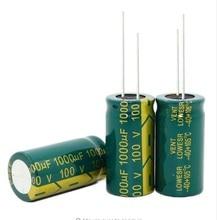 Yeni origina 25 V 450 V 50 V 100 V 63 V 10000 UF 100 UF 3300 UF 120 UF 1000 UF 2200 UF Yüksek frekans düşük direnç