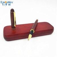 Heißer Emoshire Kreative Unterschrift Stift Holz Gelschreiber Kugelschreiber Für Schreiben Mit Bleistift-box für Jäten Geschenke P168