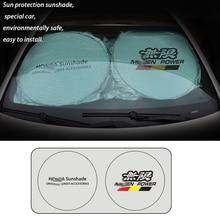 70*150 cm UV Protect Car Windshield sun visor Cover shade for car windshield Honda Front Rear Window Film Sunshade