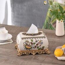 European wholesale Home Furnishing decorative ceramic crafts creative ceramic box box Home Furnishing ceramic ornaments