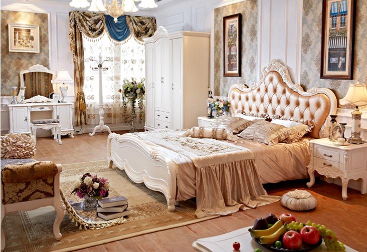 Online get cheap antiguos muebles de dormitorio blanco  aliexpress ...