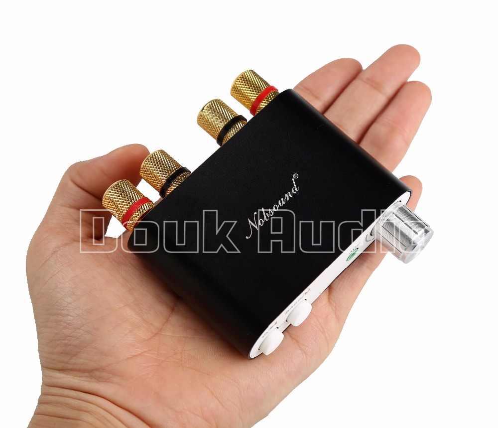 Nobsound NS-10G TPA3116 Мини цифровой усилитель стерео Hi-Fi Домашнее аудио Bluetooth 4,0 Мощность Amp 50 Вт + 50 Вт черный