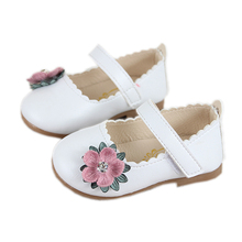 COZULMA Baby Girl Princess Weave Flower Shoes Toddler Party Anti-slip Flat Casual Enfants Size 15-25