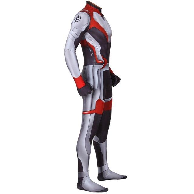 NEW Endgame Quantum Realm Cosplay Costume Superhero Zentai Bodysuit Suit Jumpsuits
