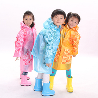 Kids Rain Coat Children Raincoat Waterproof Poncho Awning Cape De Pluie Chuva Layer Kids Raincoat Sets