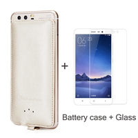 Battery Case Charger 4000mAh Power Bank Backup For Xiaomi Redmi Note 2 3 4 5 6