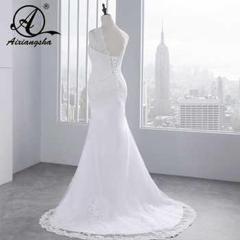 2018 Cheap Lace Mermaid Wedding Dress Country Western Wedding Dresses Vestido de Casamento Bride Dress Vestido de Novia Sirena