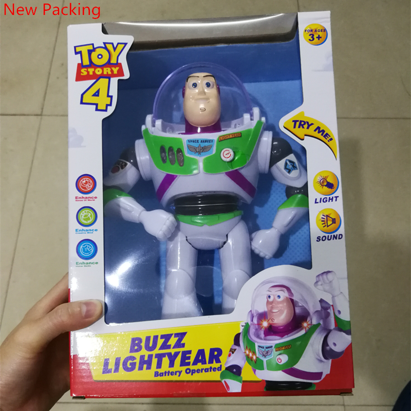 2014 New Arrival Toy Story 3 Buzz Lightyear Toys Lights Voices Speak English Action Figures 10 inch B16 2017 new arrival toy story 3 buzz lightyear toys lights voices speak english action figures 10 inch fb253