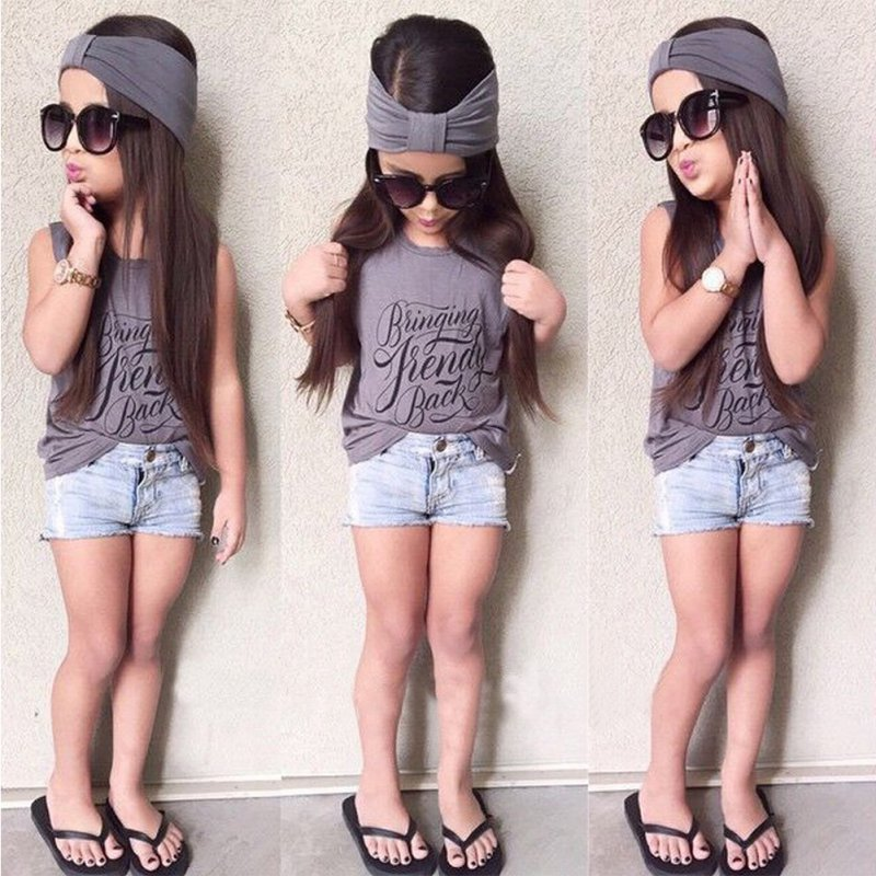 Aliexpress.com : Buy Trendy Kids Baby Girl Outfits