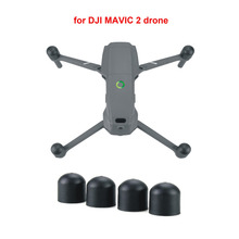 MAVIC 2 4 pçs/set Silicone Tampa de Proteção Do Motor para DJI Zangão acessórios Dust-proof Guard Tampa Cap