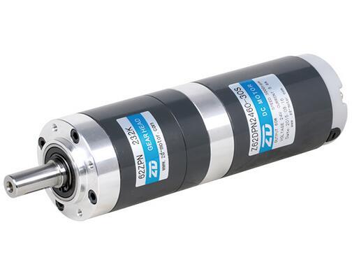 60W brush gear motor with Circular gearbox ratio 232:1 DC planetary gear motor Micro DC motor