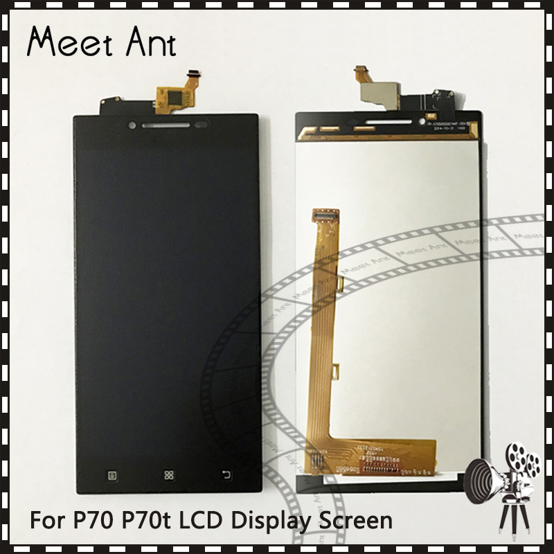 10pcs/lot high quality 5.0'' For <font><b>Lenovo</b></font> <font><b>P70</b></font> P70t LCD <font><b>Display</b></font> Screen With Touch Screen Digitizer Assembly image