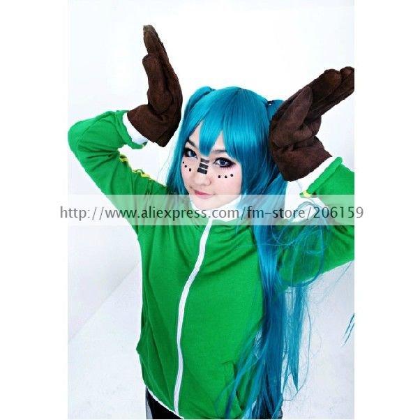 Vocaloid Matryoshka Miku ז'קט Cosplay תלבושות עם - תחפושות