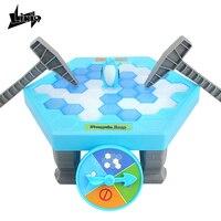 Likiq Ice Breaking Save The Penguin Great Family Funny Table Toys Gift For Children Desktop Game
