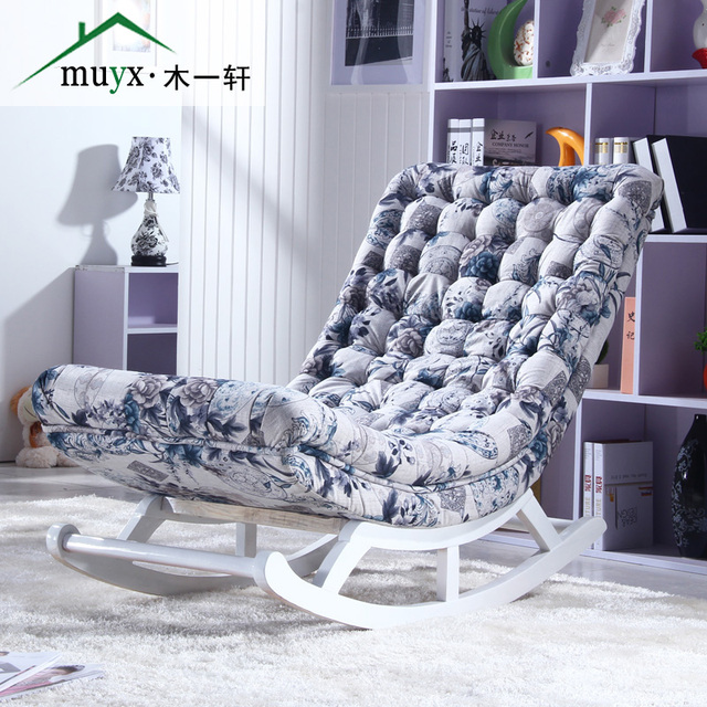 Leisure Xiao rocking chair balcony chaise longue single sofa