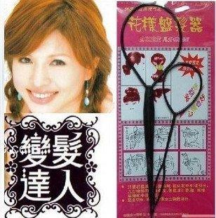 wholesale-180sets / lotto , di modo multi - colors capelli twister accessori per capelli nuovo disegno ! spedizione gratuita !