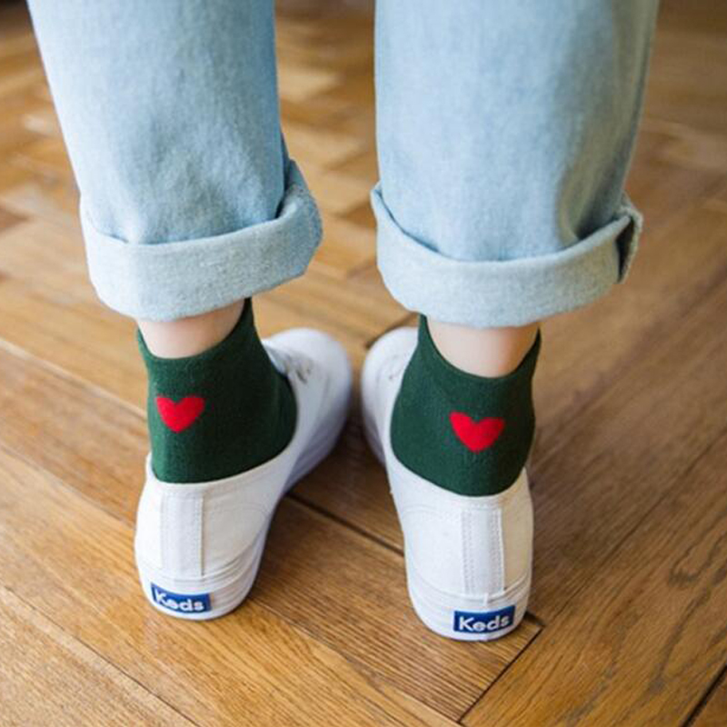 Short White   Socks   Women Funny   Socks   Collage Girls Cotton Novelty Cute   Socks   Harajuku Lady Streetwear Calcetines Mujer Divertido