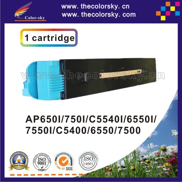 (CS-XDCC6550) toner laserjet printer laser cartridge for Xerox DC 650I 750I C5540I 6550I 7550I Docucentre 5065 5065II 6075II compatible laser printer reset toner cartridge chip for toshiba 200 with 100% warranty