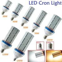 1X 30W 40W 50W 70W 100W 120W 140W E27/E40 2835SMD AC85 265V LED Cylinder Corn Light Lamp White/Warm White Corn Bulb Lighting