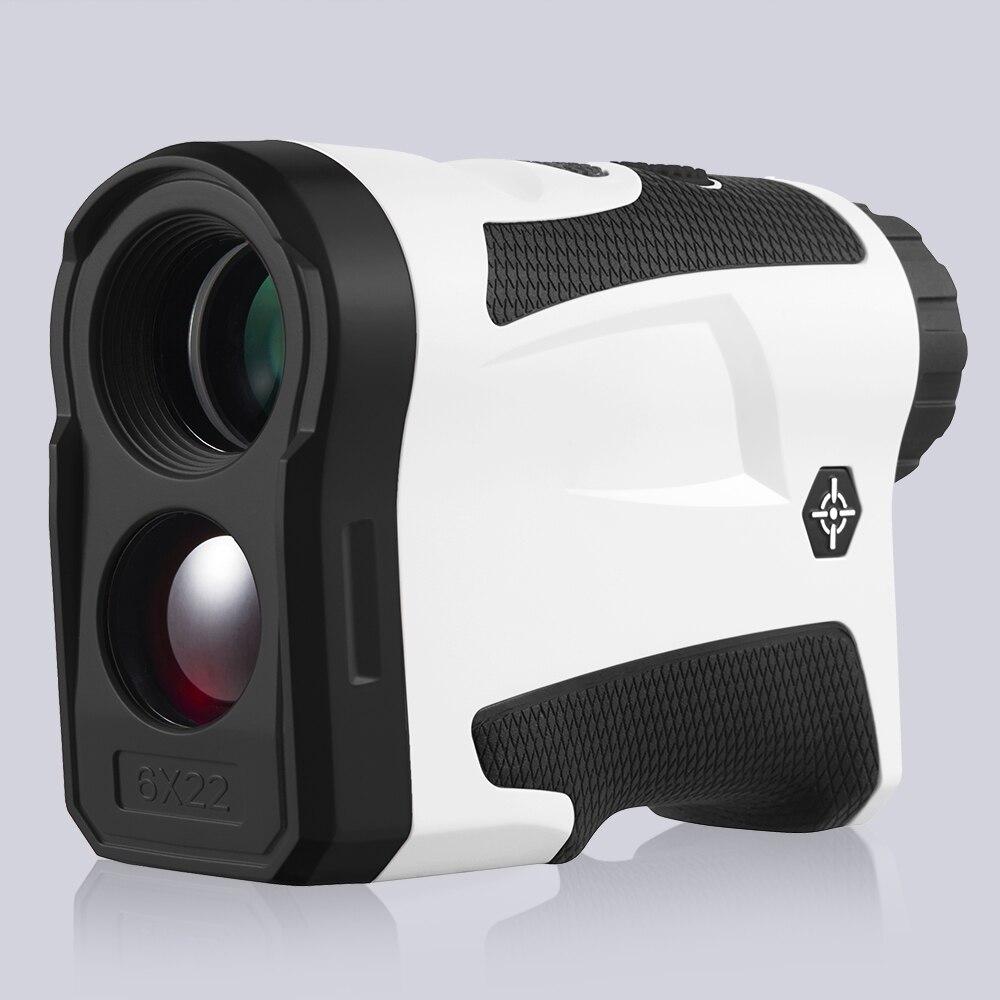 BIJIA 6x22 LF600G/LF600AG Golfe Caça Telêmetro Laser Range Finder Monocular Com Vibrar Profissional Correção da Distância