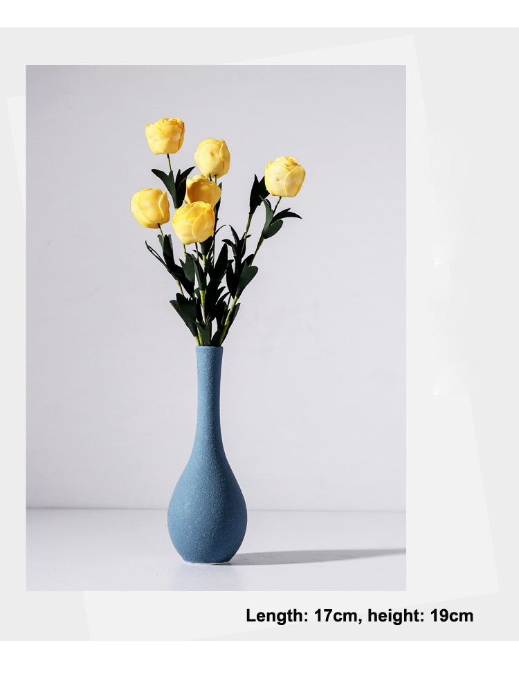 Modern Grind ceramic Vases For Table Decor