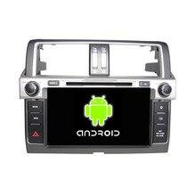 ROM 16G Quad Core 1024*600 Android 5.1.1 Fit Toyota PRADO 2014 2015 Car DVD Player Navigation GPS TV 3G Radio WIFI Bluetooth
