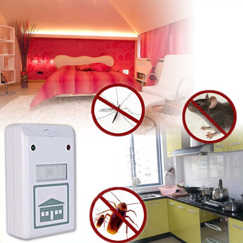 pest reject control repeller Riddex Plus Electronic Pest & Rodent Control Repeller mouse mosquito pest repelling aid(China (Mainland))