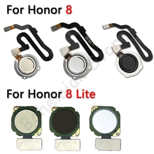 Home Back Button Fingerprint Sensor Flex Cable For Huawei Honor 8 Lite Mobile