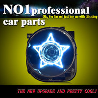 OUMIAO стайлинга автомобилей 2014 2016 до года для джип Ренегат светодиодный фары светодиодный фара с HID комплект
