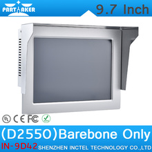 """Barebone OEM Intel Atom D2550 9.7 """"Все В Одном Мини Вождения Тест PC Сенсорный Экран Встроенный Tablet PC"""
