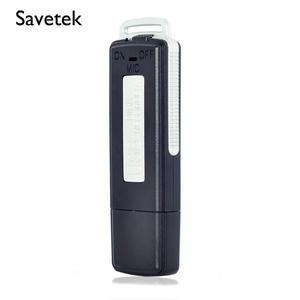 Image 1 - Savetek Mini stylo USB 2 en 1, stylo USB 8GB 16 GB, enregistreur vocal numérique avec appareil USB, 384 kps