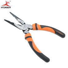 RDEER 6''/150mm Long Nose Cutting Pliers Chrome Vanadium Multitool Crimping Pliers For Wire Stripping Hand Tools
