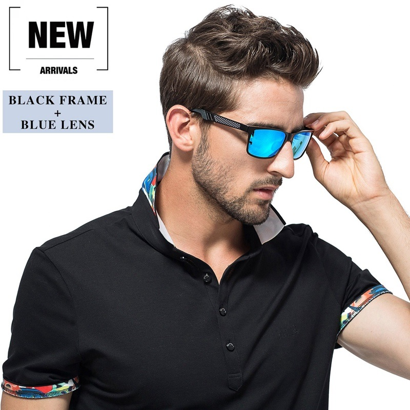 2019 Hot Retro Metal Frame Driving Polarized Sunglasses For Men Women Fit for Driving Hiking and variety Outdoor Activities 1
