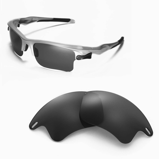 d78a836c074 Walleva Polarized Replacement Lenses for Oakley Fast Jacket XL Sunglasses 4  colors available