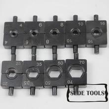 4-70мм2 гидравлический кабель обжимной инструмент штампы