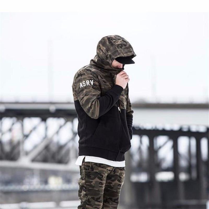 GYMOHYEAH Brand 2018 new fashion spring autumn mens hoodies camouflage style hoodie army sweatshirt tracksuit male hoodie 2