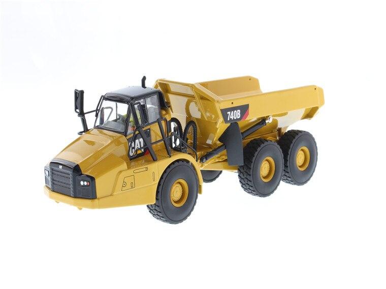 Diecast Toy Model DM 1:50 Caterpillar Cat 740 B Articulated Hauler/Dump Truck Engineering Machinery for Collection,DecorationDiecast Toy Model DM 1:50 Caterpillar Cat 740 B Articulated Hauler/Dump Truck Engineering Machinery for Collection,Decoration