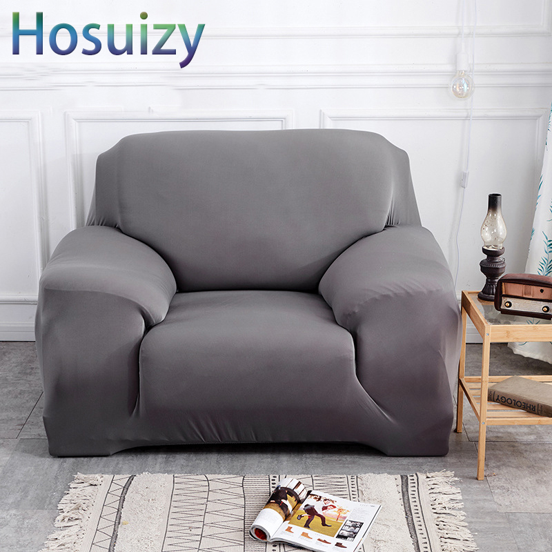 Sectional Sofa Covers for Living Room Modern Cotton Polyester Spandex Fabric Solid Universal Tight Wrap Couch Covers Slipcovers