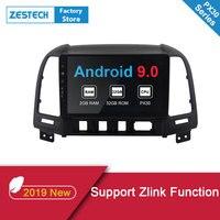 2019 1 din Android 9.0 Car DVD GPS Player for Hyundai Hyundai Santa Fe 2006 2007 2008 2012 AutoRadio car Headunit Multimedia