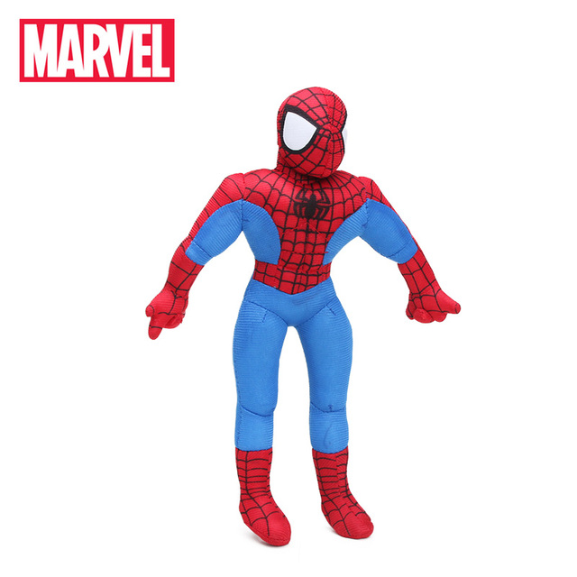 Polegada 30 12 centímetros Marvel Toys the Amazing Spider-man Superhero Spiderman Brinquedo de Pelúcia Macia Stuffed Animal Plush Toy presentes de natal Vermelho