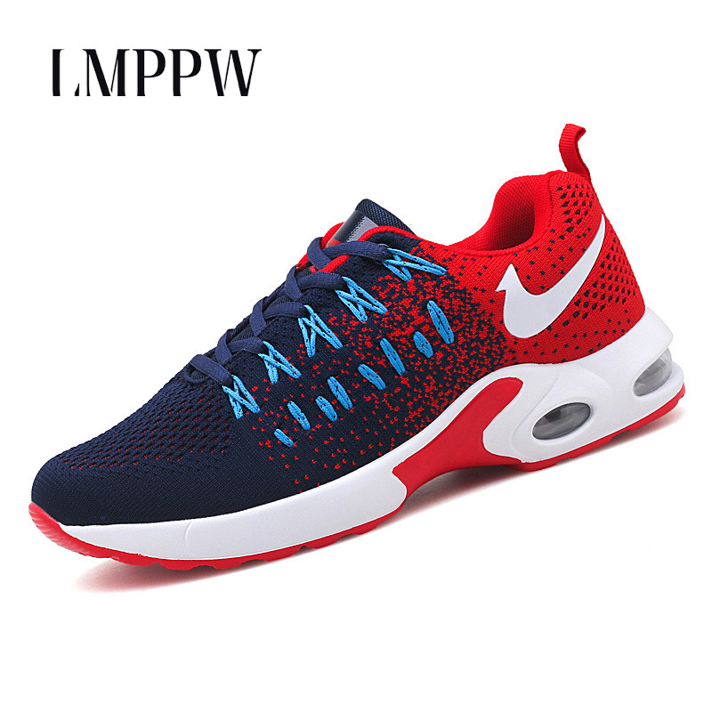 Summer Men Shoes Breathable Air Mesh Men Casual Shoes Outdoor Sports Men's Vulcanize Shoes Chunky Sneakers Tenis Masculino(China)