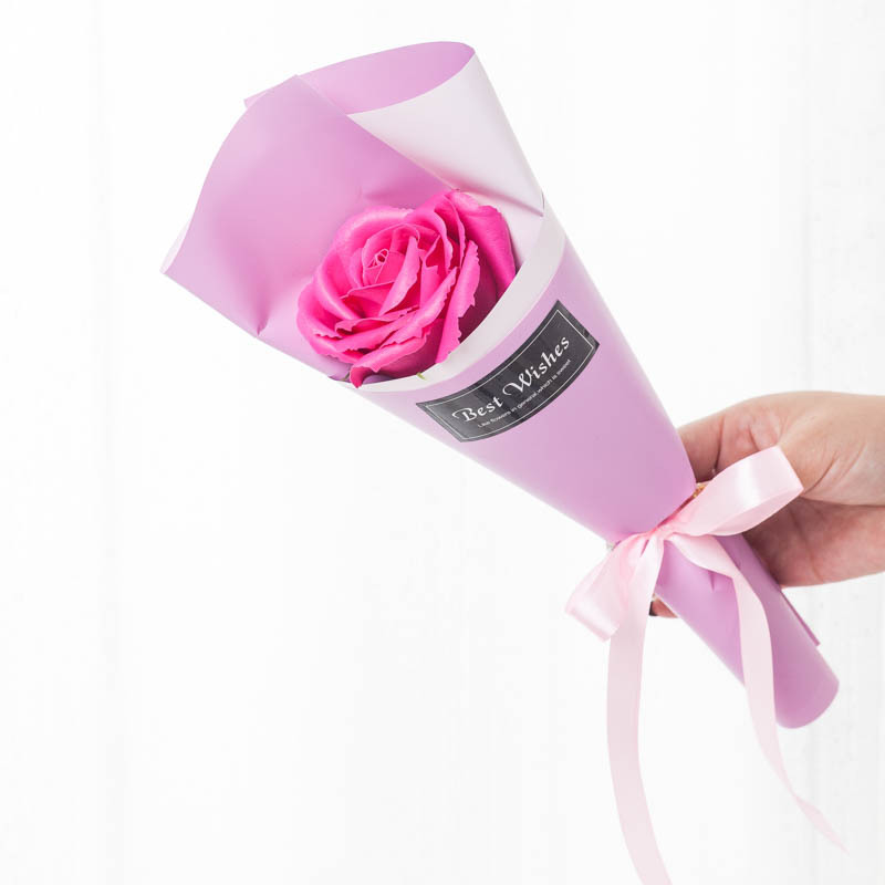 Perfumed-Soap Rose Presents Creative Lover Flower Simulated Aromatic Valentine's-Day-Gifts