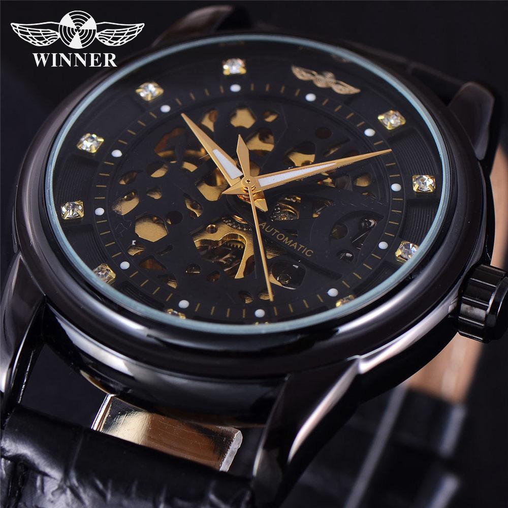 Prix pour Top Marque De Luxe Hommes de Montre-Bracelet Hommes Sport Militaire Horloge Automatique Mécanique Montres Hommes D'affaires Squelette Horloges