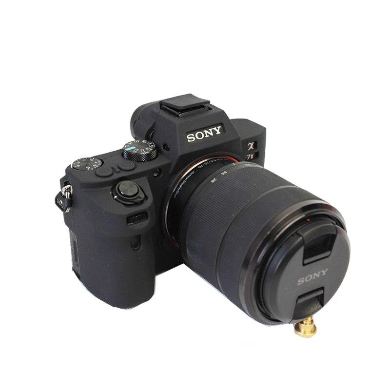 Soft Silicone Camera case Rubber Protective Body Cover Case Skin for Sony A7 II A7II A7R Mark 2 A7R2 ILCE-7M2 Camera Bag