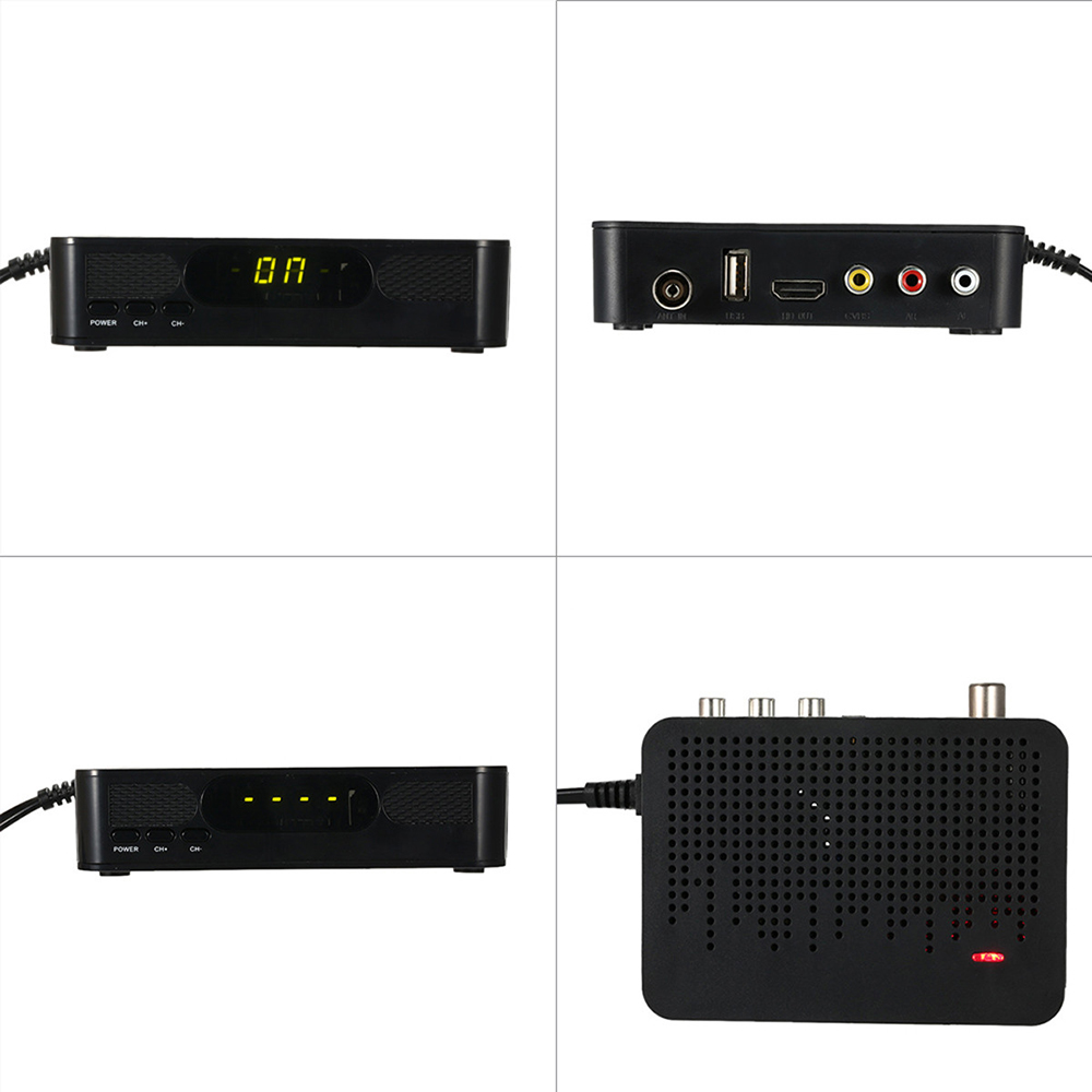 K3 DVB-T2 Receiver Digital Video Broadcasting Terrestrial Receiver Full HD 1080P Set Top Box Support 3D USB H.264/MPEG4 for HDTV