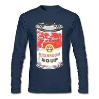 Cheap Cool Tees Crew Neck Men Tee Shirts Cheap Mario Bro S Mushroom Soup Youth Cotton